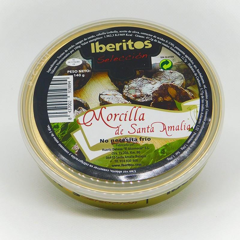 CREMA DE MORCILLA DE SANTA AMALIA 140GR PATÉS