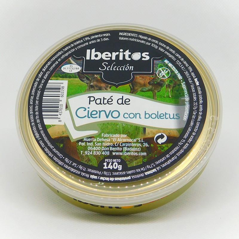 PATÉ DE CIERVO  CON BOLETUS 140GR