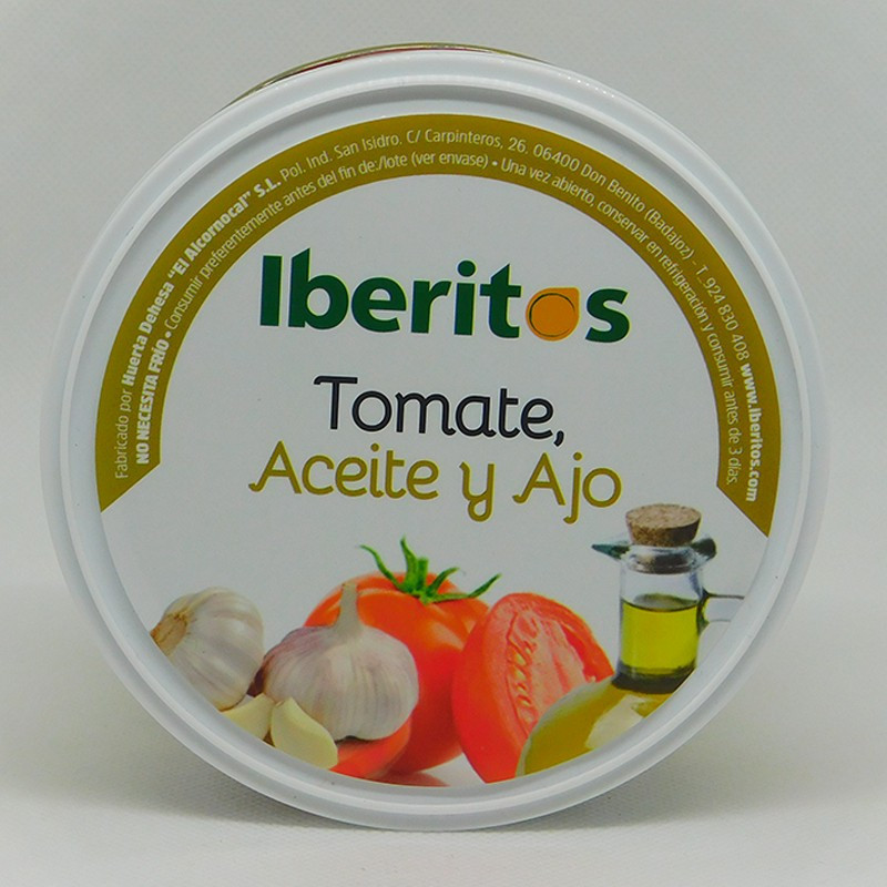TOMATE ACEITE Y AJO 250GR