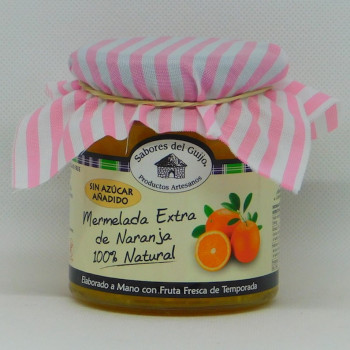 MERMELADA DE NARANJA AMARGA  ARTESANA 400GR