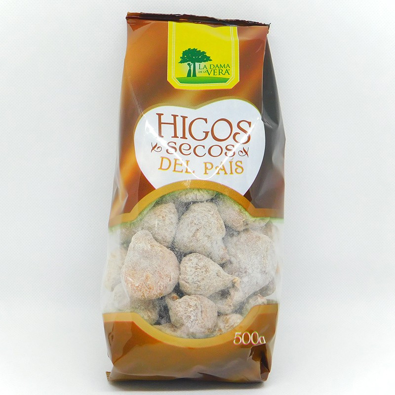 BOLSA HIGOS SECOS LA DAMA DE LA VERA 500GR